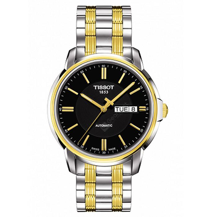 ChinaBestPrices - Reloj mecánico con banda de acero para hombres TISSOT Stylish