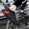 Comfortable Fashion Casual Breathable Sneakers for Men - BLACK