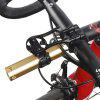 Bicycle Bracket Extension Aluminum Alloy Code Table Seat for Jiaming Cat Eyes - BLACK