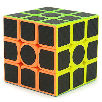 Carbon Fiber Magic Cube Smooth educatief speelgoed
