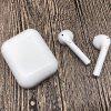i11 In-ear Bluetooth Headset BT 5.0 con módulo de carga TWS Button Version - BLANCO
