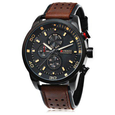 CURREN 8250 Casual Men Watch Quartz