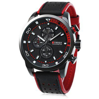 CURREN 8250 Casual heren quartz horloge