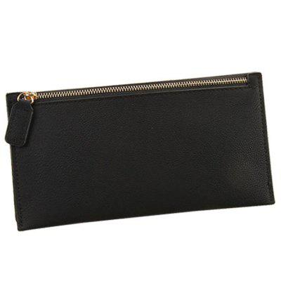 17 - zlj - 4041 - d06.4.07 ladies clutch leather long wallet money bag case