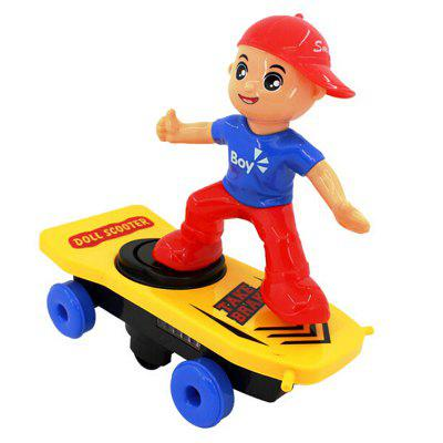 Children's Electric Cool Stunt Scooter Toy