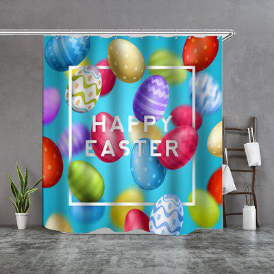 creative multicolor boutique shower curtain