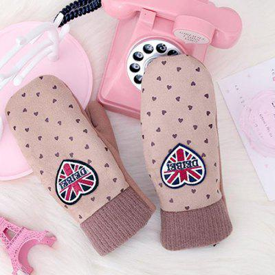 XIMIVOGUE Children Cute Heart Warmer Gloves 2pcs