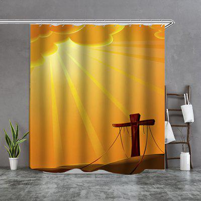 simple style boutique shower curtain