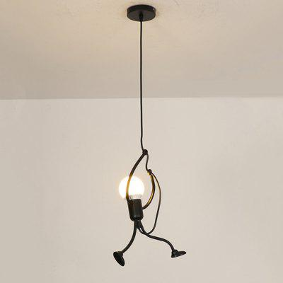 Retro Creative Pendant Light Figure Art Chandelier