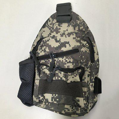 Men Nylon Hiking Sling Crossbody Bag