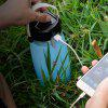 Multi-function LED Outdoor Camping Solar Energy Charging Lamp - CRYSTAL BLUE