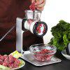 Keouke E902 Non-electric Meat Grinder Manual Household Small Minced Sausage Machine Kitchen Tool - WHITE