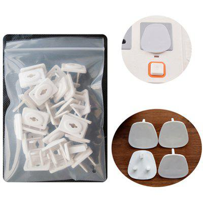 TUSUNNY SH1.060 Baby Anti-shock Power Socket Protection Cover for UK / Hong Kong / Malaysia / Singapore