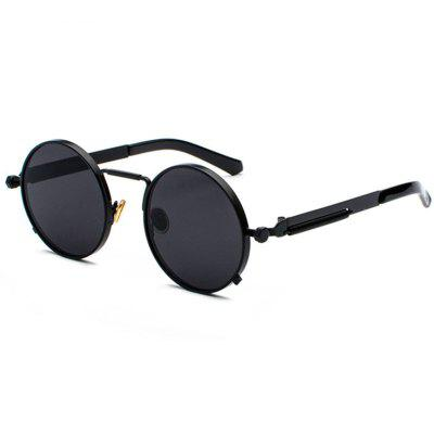 Male Punk Style Metal Leg Personality Sunglasses