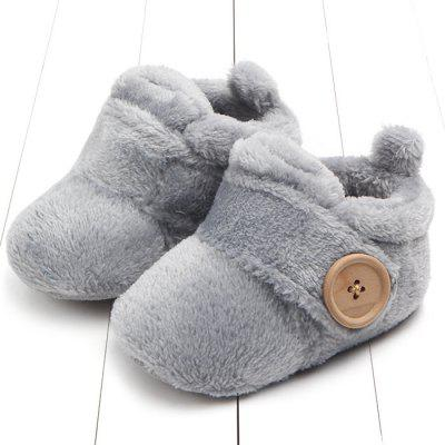 Baby Warm Comfortable Non-slip Soft Bottom Shoes