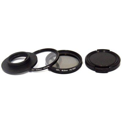 SJ8 Air PLUS PRO Filtre UV 40.5mm CPL Pour Mountain Dog SJCAM Sports Camera