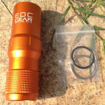 Metal Waterproof Survival EDC Aluminum Sealed Bottle