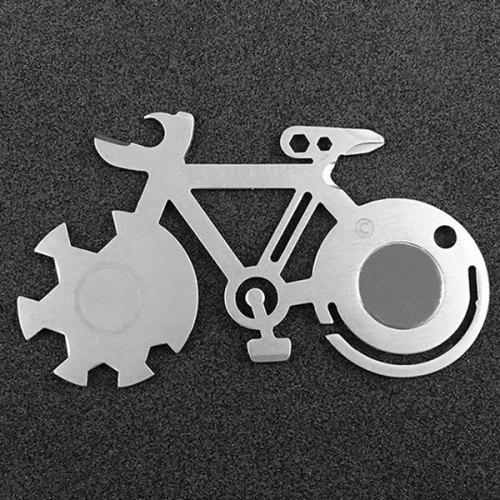 Outdoor Multifunctional Stainless Steel Tool Card
