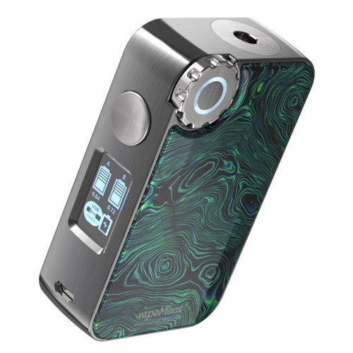 Vapemons Gearbox 222w TC Box Mod Wireless Charging Pad Included IML Resin Panel