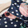 18060 Baby Leaking Shoulder Pineapple Dress - MULTI-A