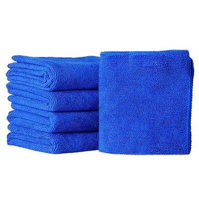 5 Square Towels for Car Washing