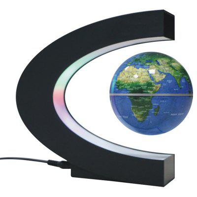 C-shaped 3 inch Light Magnetic Levitation Globe