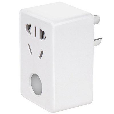 Mini WiFi Smart Home Socket with Timer Wireless Remote Control Funtion