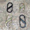 Outdoor EDC Equipment Zinc Alloy Carabiner - PLATINUM