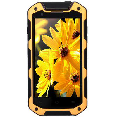 Refurbished 4.5 inch iMan i5800C Android 4.4 3G IP67 Smartphone MTK6582 Quad Core 1.3GHz 1GB RAM 8GB ROM Dual Cameras GPS Shockproof Waterproof Dustproof