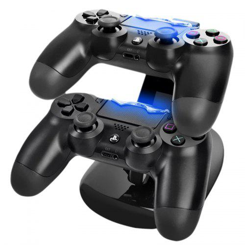 Dual USB Charger Charging Station Stand for Sony PS4 / PS4 Pro Controller