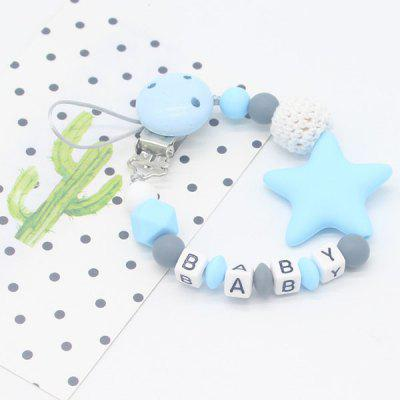 Baby Silicone Nipple Clip Pacifier Chain