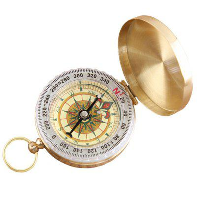 G50 Pure Copper Flip Outdoor Multi-function Metal Compass