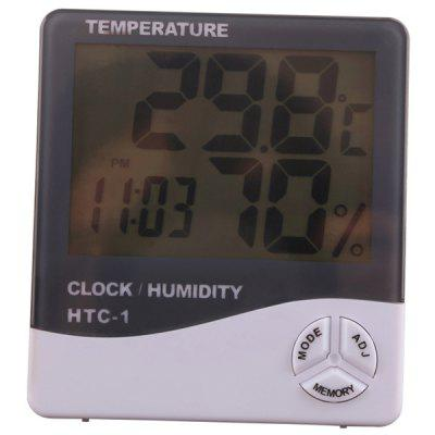 HTC - 1 Large Screen Home Thermometer Hygrometer