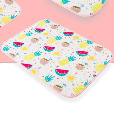 FCND1801 Waterproof Diaper Pad Washable Sheets Breathable Female Menstrual Period Mat