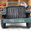 Retro Military Model Cross-country Metal Car Craft Decoration - ARMY GREEN