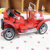 Classic Iron Retro Nostalgic Wrought Car Model - RED