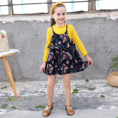 Fashionable Comfortable Floral Children's Sets