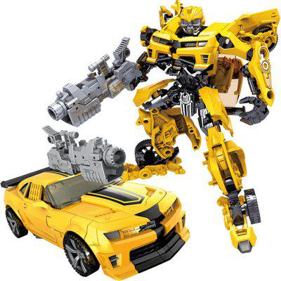 Children Robot Transformation Anime Series 2 Size Car ABS Plastic Model Action Figure Toy for Child