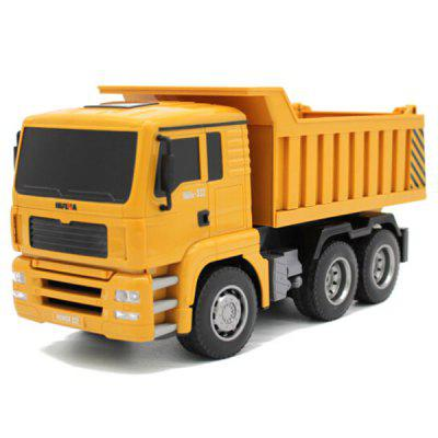HUI NA TOYS 1332 1 : 18 Six-channel Remote Dump Truck