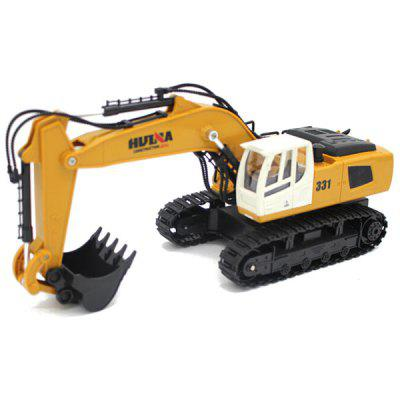 HUI NA TOYS 1331 1 : 18 Nine-channel Remote Control Excavator