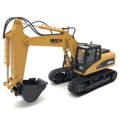 HUI NA TOYS 1350 1 : 14 Fifteen-channel Remote Control Excavator
