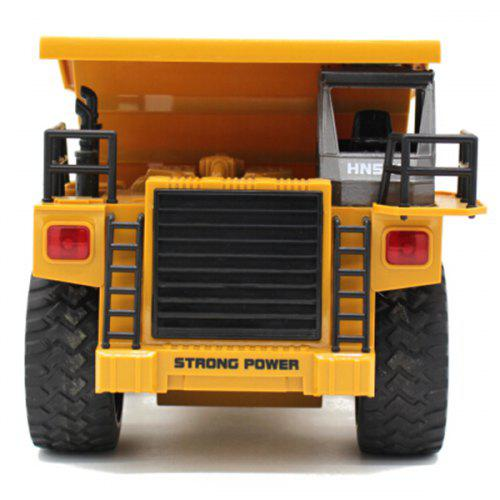 HUI NA TOYS 1540 1 : 18 Six-channel Alloy Remote Dump Truck
