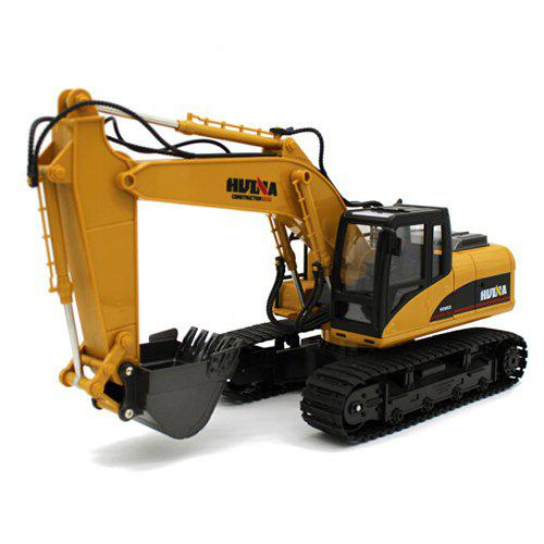 HUI NA TOYS 1550 1 : 14 Fifteen Channel Alloy Remote Control Excavator