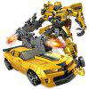 Robot Transformation Car Toy for Kids - YELLOW