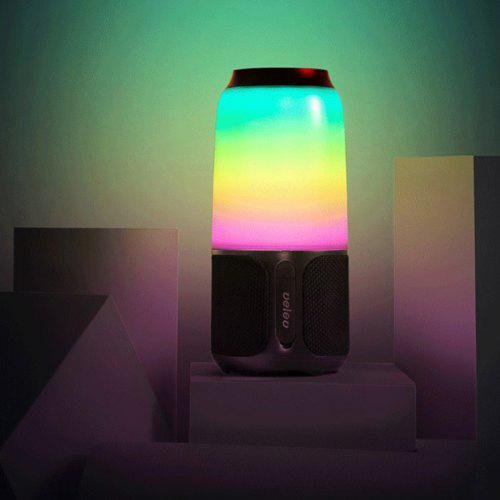 Gearbest V03 Multi-function Indoor Atmosphere Night Light Colorful Lighting Sound from Xiaomi youpin - White