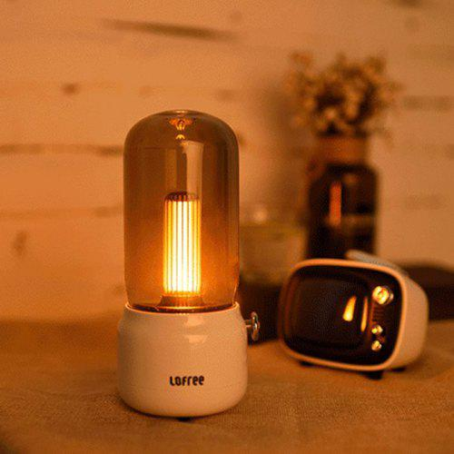 LOFREE Exquisite Dual Mode Charging Night Light from Xiaomi youpin – White 435597603