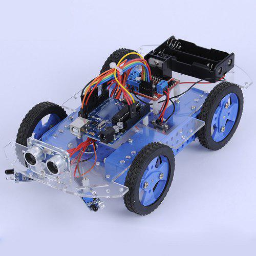 Infrared Ultrasonic Obstacle Avoidance Remote Intelligent DIY Puzzle Racing Car [ΕΚΠΤΩΤΙΚΟΣ ΚΩΔΙΚΟΣ: GB-THIUDIY]