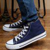K867 Men's High Canvas Shoes - BLUE