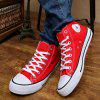 K867 Men's High Canvas Shoes - RED