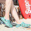 1819 Girls Hole Shoes Sandals - LIGHT CYAN